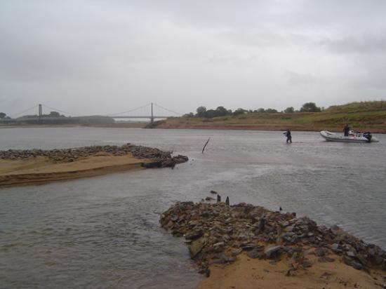 """la pêcherie du """"gué aux moines"""""""