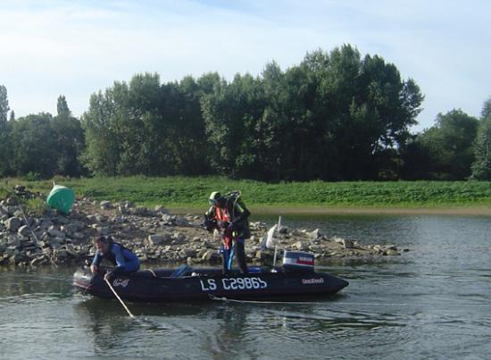 confluence Evre/Loire